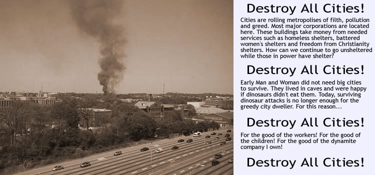 Destroy All Cities!